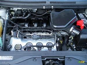 2007 Ford Edge Sel Plus Engine Photos