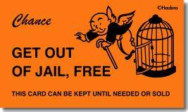 do not be surprised july 2013 With get out of jail free card template