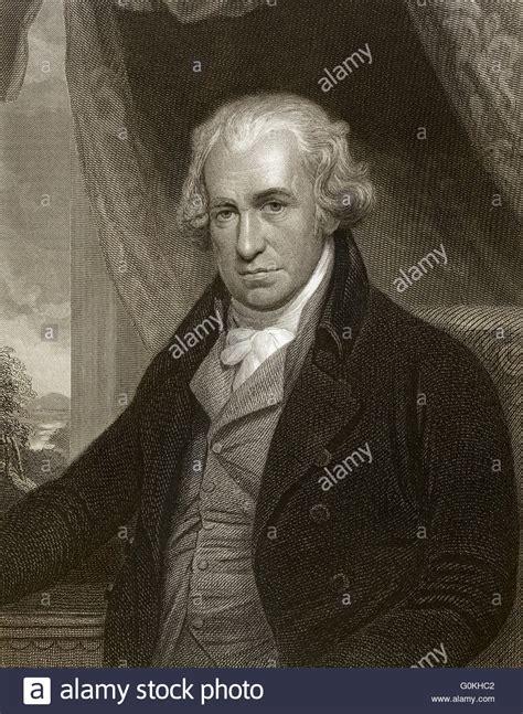 James Watt 1736 1819 Scottish inventor of the steam