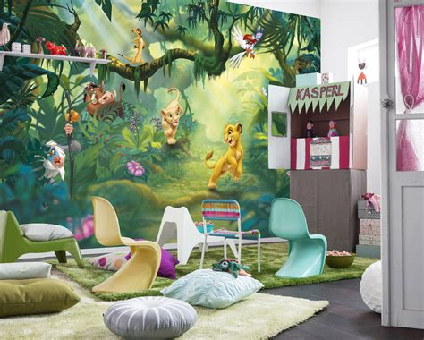 lion king wall mural photo wallpaper for kids baby room 368x254cm disney decor 4036834084325