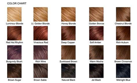 Types Of Hair Colours by Pravana Hair Color Chart Hair Colors Pravana Hair