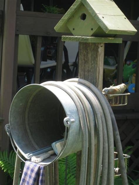diy garden  yard tool storage ideas