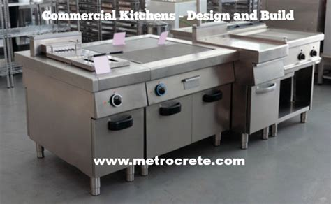 design  build  commercial kitchen metrocrete