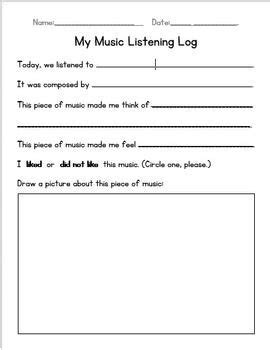 primary listening worksheet could use something