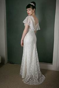 vintage inspired wedding dress of the week in dreamy With 1930s wedding dresses