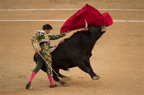 Bullfighting in Madrid, Spain