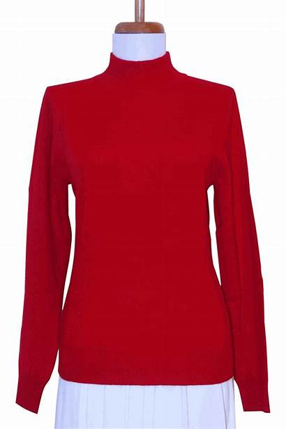 Mock Turtleneck Sweater Cashmere Sweaters Ply Womens