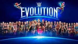 Which Match Is Expected To Headline WWE Evolution PPV ...