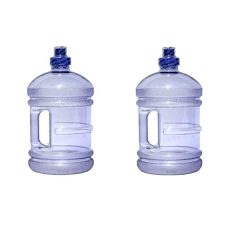 water bottle with handle ore international h8o 64 oz bpa free water jug with