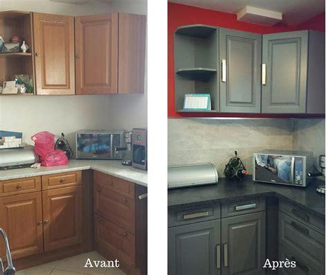exemple de cuisine repeinte 15 cuisines avant apres eleonore déco