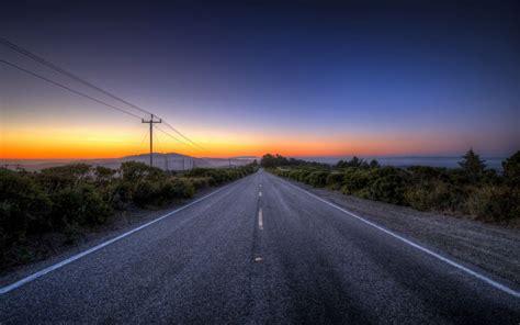 Sunset road landscape g wallpaper   1920x1200   148889 ...