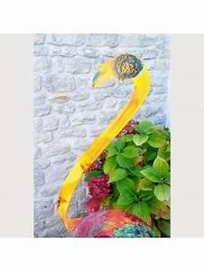 Flamant Rose Jardin : sculpture de jardin pour ext rieur statue de jardin ~ Teatrodelosmanantiales.com Idées de Décoration