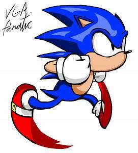 Running Sonic (Classic) Animation by VGAfanatic on DeviantArt