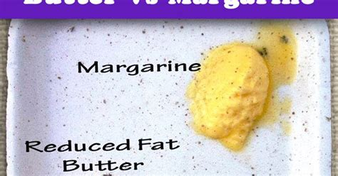 difference between butter and margarine the difference between butter and margarine
