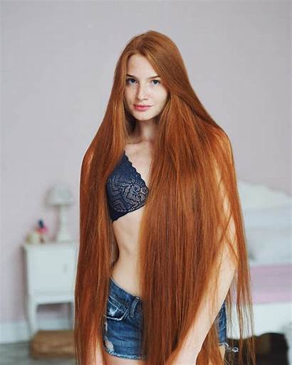 Russian Woman Redhead Alopecia Rapunzel Anastasia Hairstyles