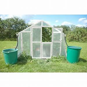 Serre De Jardin Polycarbonate : serre de jardin 303x452cm 13 69m en polycarbonate 8mm ~ Dailycaller-alerts.com Idées de Décoration