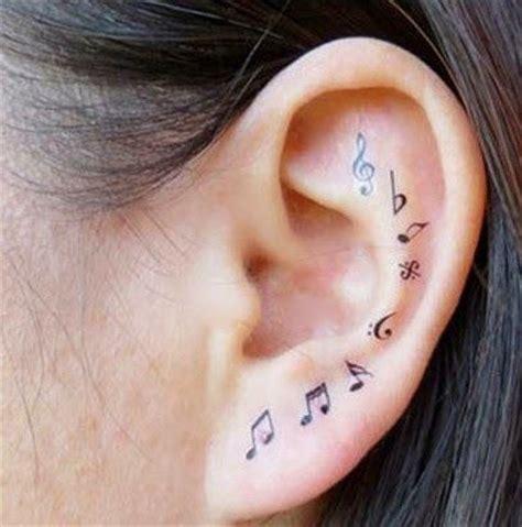 petit tatouages notes de musique 224 l int 233 rieur de l