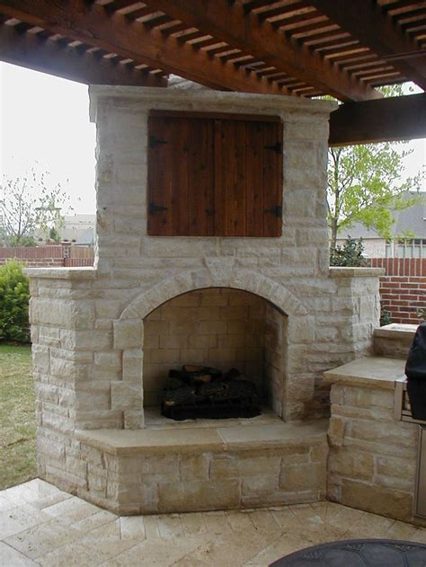25 best ideas about outdoor stone fireplaces on pinterest