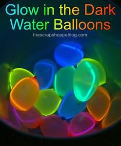Glow in the Dark Water Balloons - Design Dazzle