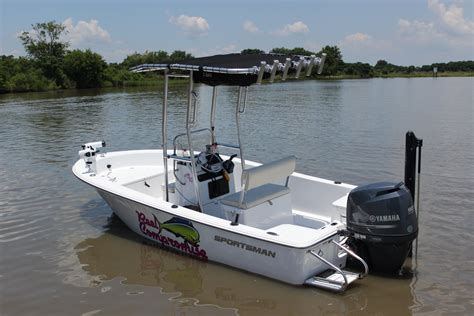 Sportsman Boats T Top by Sportsman Island Reef 17 And 19 The Hull