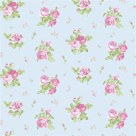 foto de Papier peint LUTECE English Floral rose bleu en 2020 (avec