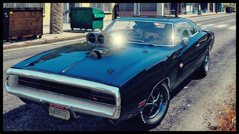 Dom Fast And Furious Car by Dominic Toretto Vin Diesel 1970 Dodge Charger R T Fast