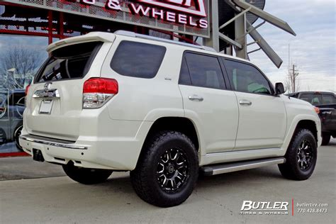 toyota runner   black rhino sierra wheels