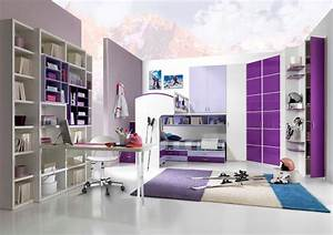 idee deco chambre ado fille moderne With chambre moderne pour ado