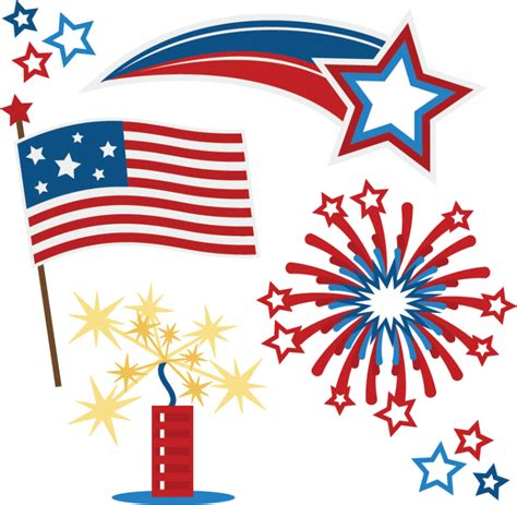 July 4th Clip Fourth Of July Clip Cliparts Co