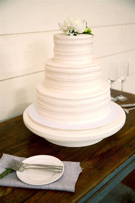 Simple 2 Tiered Wedding Cakes White Two Tier Wedding Cake