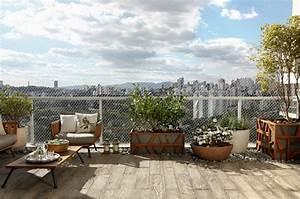 balkon sichtschutz mit pflanzen natur pur auf dem balkon With markise balkon mit designer tapeten sale