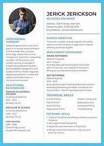 free basic network engineer resume and cv template in With engineering resume template microsoft word