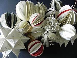 Décoration Fait Maison : decoration de noel en papier fait main ~ Carolinahurricanesstore.com Idées de Décoration