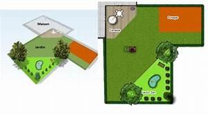 plan amenagement jardin rectangulaire estein design With plan amenagement jardin rectangulaire