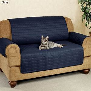 navy sofa cover blue sofa cover reclining slipcover With sofa arm covers blue