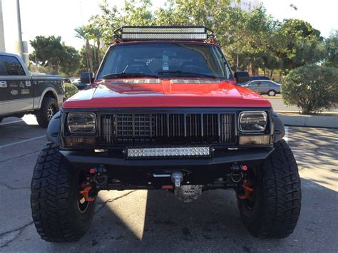 long jeep jeep cherokee xj long arm quadratec