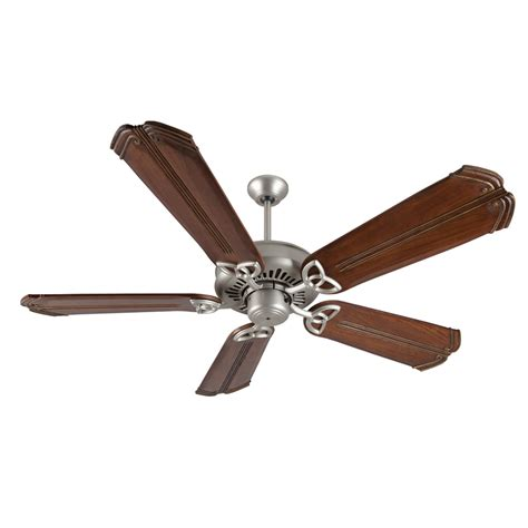 ceiling fans made in usa american tradition brushed nickel ceiling fan with 56 inch