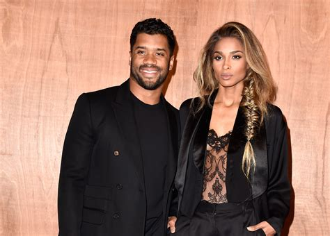 ciara russell wilson engaged  seattle seahawks player