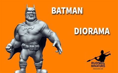 3d Printed Batman Cartoon