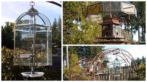 how to make a rain guard for bird feeder create a stylish guard for your bird feeder from light fixtures bird feeders and lights