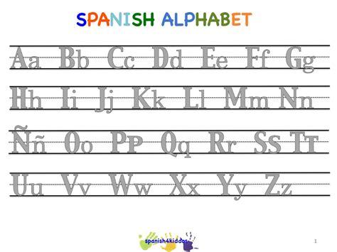 spanish alphabet writing lesson spanish4kiddos tutoring