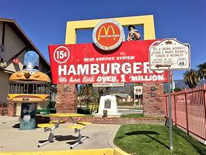 Route 66 Road Trip Original McDonald's Location In San ...
