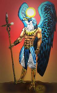 Horus by Aegyptian on DeviantArt