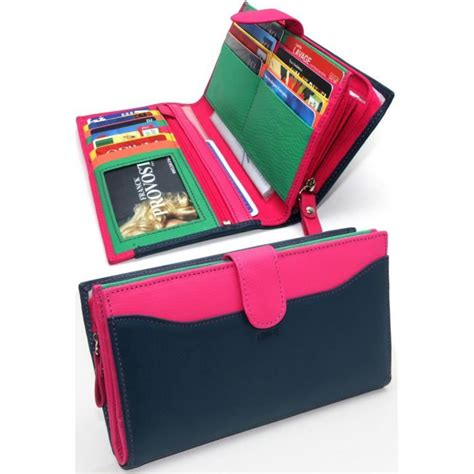 porte carte femme pas cher compagnon tout en un portefeuille femme cuir achat vente tout en un 2009963373495 cdiscount