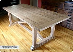 dining table rustic dining table diy With diy rustic dining room table