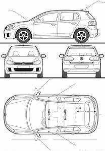Dimensions Golf 5 : volkswagen golf gti 5 door 2009 blueprints pinterest volkswagen golf golf gti 5 and car ~ Medecine-chirurgie-esthetiques.com Avis de Voitures