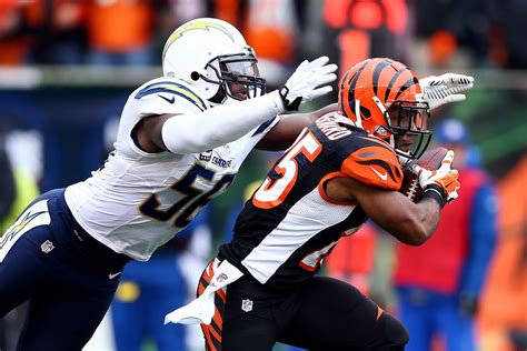 Chargers-bengals Final Score