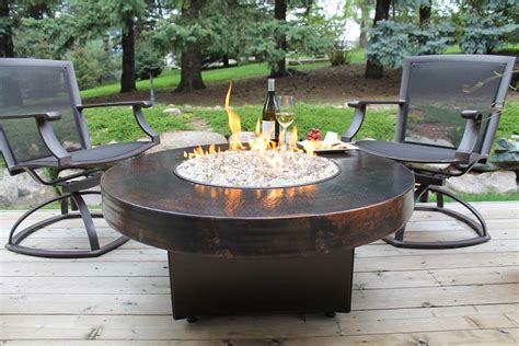 propane fire table glass fire pit dining table amazing outdoor tables with fire