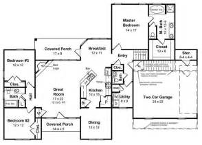 ranch style homes floor plans ranch style homes the ranch house plan makes a big comeback