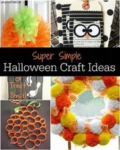 Super Simple Halloween Craft Ideas